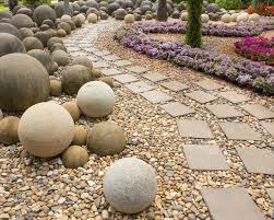 best 25 stone garden paths ideas on pinterest pebble walkway