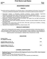 top nurse resume templates u0026 samples