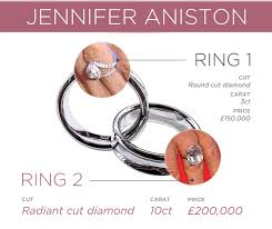 Jennifer Aniston Wedding Ring by The Look Of Love A Celebrity Engagement Ring Comparison