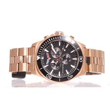 rose gold corvette sold out akcr 215rg corvette 215 swiss chrono collection black