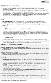 Job Title On Resume by Charity Work On Resume Best Free Resume Collection