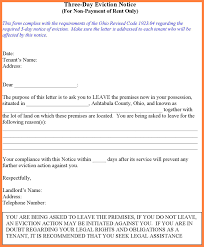 9 eviction notice for roommate notice letter