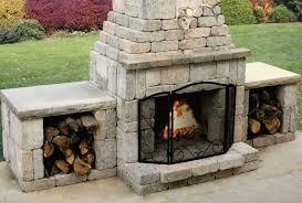 Firerock Masonry Fireplace Kits by Outdoor Fireplaces