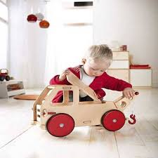 wooden toy truck age 1 by alice frederick notonthehighstreet com