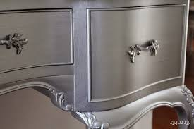 what of paint do you use on metal cabinets how to paint furniture metallic silver paint looks