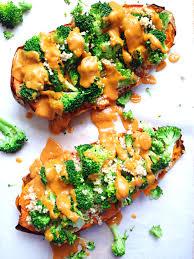patate douce cuisine patate douce x trême quinoa brocolis sauce onctueuse vegan