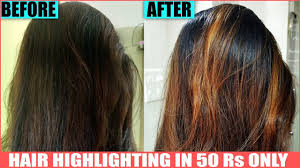 hair colour after 50 easy hair highlights at home how to color hair brown fashion