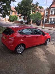 ford fiesta manual 2012 plate 2 owners only low mileage red