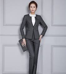 shop new autumn winter professional pantsuits with jackets