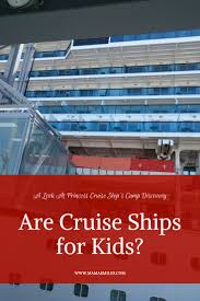 are princess cruises fun for kids princess cruise line kids