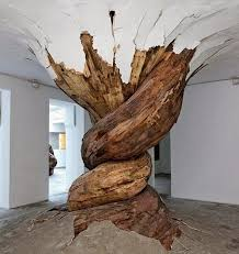 artwork with wood colganology the plywood of henrique oliveira