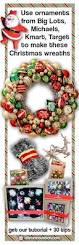 Target Wreaths Home Decor Ornament Wreaths Made From New Christmas Ornaments I Shop Target
