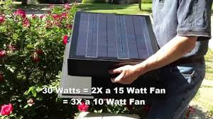remington solar 30 watt solar attic fan youtube