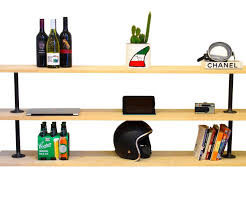 Industrial Pipe Bookcase Industrial Pipe Shelf 8 Steps With Pictures