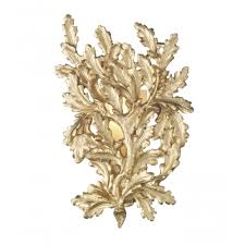 Decorative Wall Lights For Homes by The David Hunt Lighting Collection Oak Decorative Gold Leaf Wall
