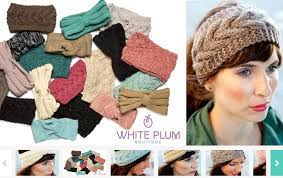 winter headbands winter headbands 5 styles and 21 colors only 6 99 each