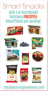 weight watchers freestyle smart snacks with ww smartpoints meal