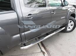 nissan frontier nerf bars side steps nerf bars 3 u2033 round s s double cab auto beauty vanguard