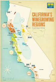 California Arizona Map by California Wine Map U2014 Gavin Potenza