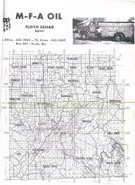 barry county mo 1972 plat maps