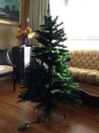 4 foot tree 3 pre lit fiber optic artificial