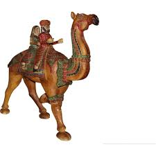 zifiti buy sell wooden carved hand painted dhola maru camel