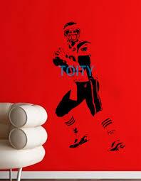 online get cheap football decal aliexpress com alibaba group tom brady wall sticker new england patriots vinyl decal american football quarterback sport poster boy room