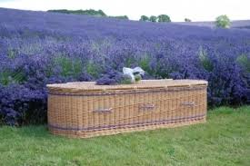 wicker casket the burial company usa