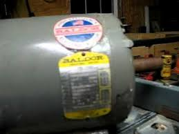 3 phase 5hp electric motor youtube