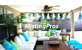 Patio Misting System Diy by Backyard Misters U2013 Abhitricks Com