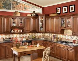 Chocolate Glaze Kitchen Cabinets Home Design Traditional - Glazed kitchen cabinets