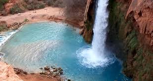 most amazing places in the us grand canyon waterfalls havasu falls grand canyon arizona usa