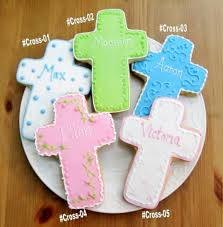 holy communion favors cross cookie favors personalized cookie favors custom cookies