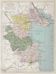 map of county louth