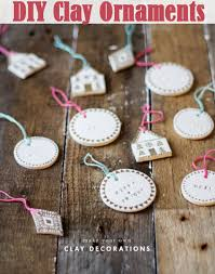diy clay ornaments diy comfy home