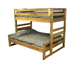 Solid Wood Bedroom Furniture Double Bunk Beds  Cargo Furniture - Single double bunk beds