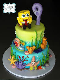 22 best cakes images on pinterest birthday cakes spongebob