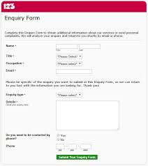 customer contact form template 35 best php contact form templates