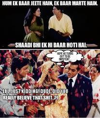 Bollywood Meme - memes 12 iconic bollywood movie scenes converted into hilarious