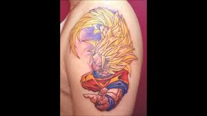 dbz tattoo art youtube