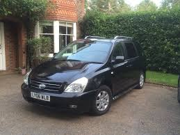 2006 kia sedona ls 2 9tdi black manual low milage 75k service