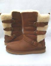 womens boots size 11 australia ugg australia becket chestnut boots womens size 11 m ebay