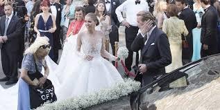 Custom Made Wedding Dresses Uk Victoria Swarovski U0027s Custom Made Wedding Dress Is As Sparkly As