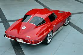 what year was the split window corvette made 1963 chevrolet corvette custom split window coupe 137550