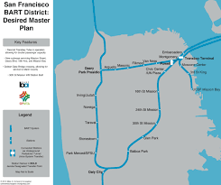 Bart Line Map by The Future Of Mobility Desired Mass Transit Bart In Sf Edition