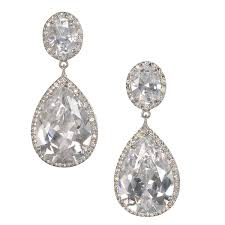 earring drop dramatic bridal drop earrings bellagio