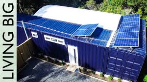 this 40ft shipping container home is packed with clever space