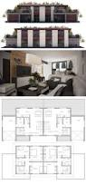 38 best duplex house design images on pinterest duplex house duplex house plan