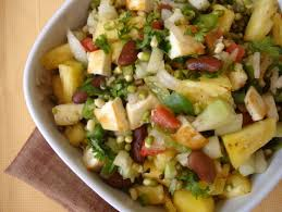 Raw Food Pineapple Paneer Salad Indian Food Recipes Food And