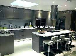 gray gloss kitchen cabinets high gloss kitchen units irrr info